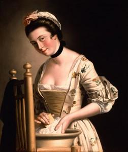 Un ras de cou porté par une femme au XVIe siècle