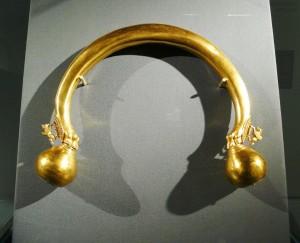 Torque en or datant du Ve siècle avant J.C.